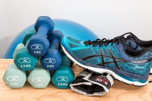 Topánky a činky